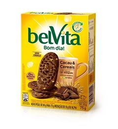 BISC BELVITA CACAU E CEREAIS 3X25G