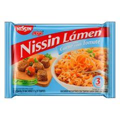 NISSIN LAMEN TRAD CARNE C TOMATE 85G