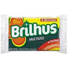 ESPONJA BRILHUS MULTIUSO 1UN