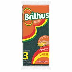ESPONJA BRILHUS PROT UNHA C/3 ABRASIV 1U