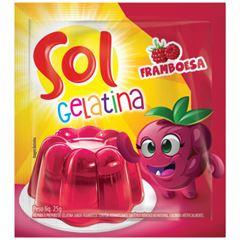 GELATINA SOL SCH FRAMBOESA 15X25G