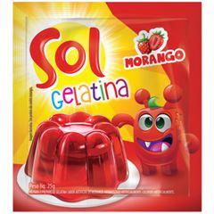 GELATINA SOL SCH MORANGO 15X25G