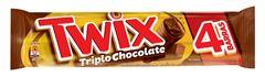 CHOCOLATE TWIX TRIPLO CHOCOLATE 80G