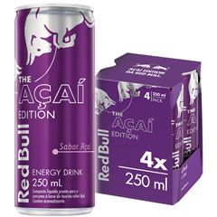 RED BULL ACAI EDITION PACK 4X250ML