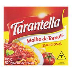 MOLHO TOMATE TARANTELLA TRAD TP 520G