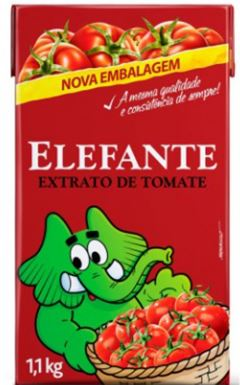 EXTRATO TOMATE ELEFANTE TP 1,1KG