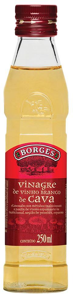 VINAGRE BORGES VINHO BRANCO 250ML