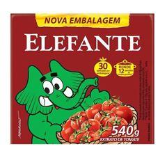 EXTRATO TOMATE ELEFANTE TP 540G