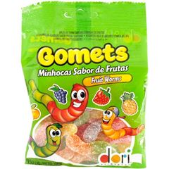 GOMETS SM MINHOCAS FRUTAS 100G