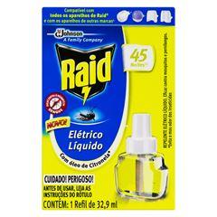 RAID ELETR LIQ RF 45N CITRONELA 32.9ML