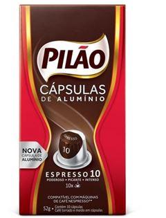 CAFE ESPRESSO PILAO ESPRESSO 10 10X52G