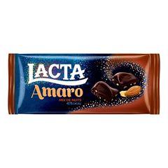 CHOC LACTA AMARO17X90G