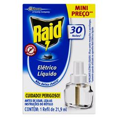 RAID ELETR LIQ RF 30N 21,9ML