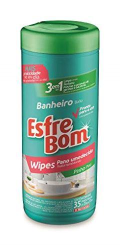 WIPES ESFREBOM BANHEIRO TUBO 1UN