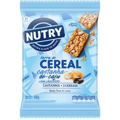BAR NUTRY CEREAL CAST CAJU CHOC 3X22G