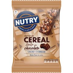 BAR NUTRY CEREAL BOLO CHOC 3X22G