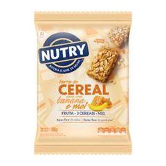 BAR NUTRY CEREAL AVEIA BAN MEL 3X22G