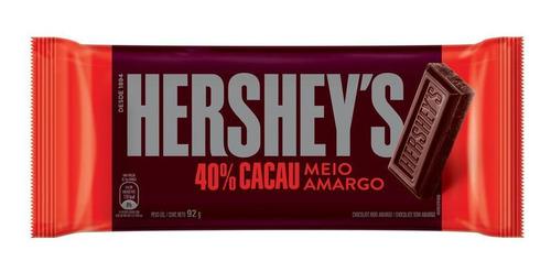 BARRA HERSHEY S 40% MEIO AMARGO 92G