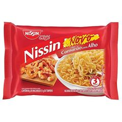 NISSIN LAMEN TRAD CAMARAO C/ ALHO 85G