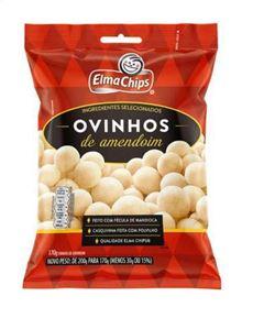 OVINHOS DE AMENDOIM ELMACHIPS 170G