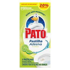 PATO PASTILHA ADESIVA CITRUS 20% 3UN