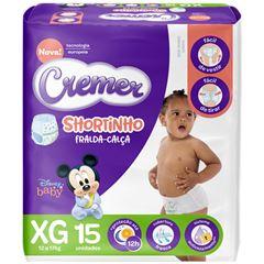 FRL SHORTINHO CREMER JUMBINHO XG 15UN