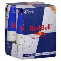RED BULL REGULAR PACK 4X250ML