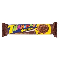 BISC RECH TRAKINAS MAIS CHOCOLATE 126G