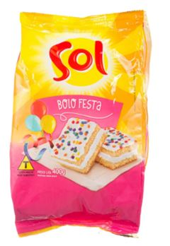 MISTURA P BOLO SOL FESTA 400G