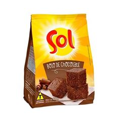 MISTURA P BOLO SOL CHOCOLATE 400G