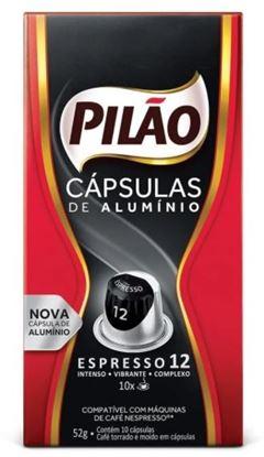 CAFE ESPRESSO PILAO LUNGO 10 10X52G