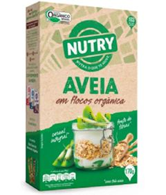 AVEIA FLOCOS ORGANICO NUTRY 170G