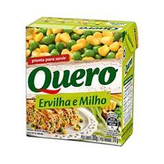 ERVILHA E MILHO QUERO TR 170G