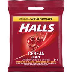 HALLS BAG CEREJA 3UN