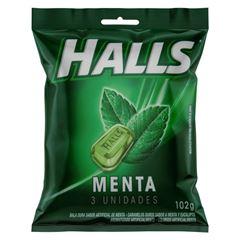 HALLS BAG MENTA 3UN