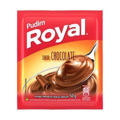 PUDIM ROYAL CHOCOLATE 12X50G