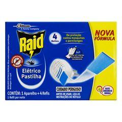 RAID ELETR PASTILHA AP + 4 RF 4N