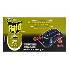 RAID ISCA MATA BARATA ACAO 3MESES 6X2,6G