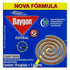 BAYGON ESPIRAL METAL 10UN