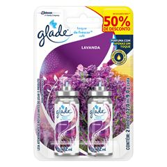 GLADE T&F  RF LAVANDA 50% DESC 2X12ML