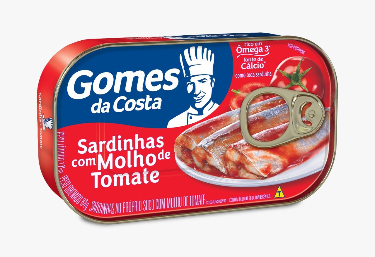 SARDINHAS GDC MOLHO TOMATE 125G