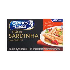 FILES DE SARDINHA GDC COM PIMENTA 125G