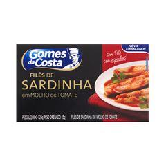 FILES DE SARDINHA GDC MOLHO TOMATE 125G