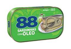 SARDINHAS 88 AO SUCO C OLEO COMEST 125G