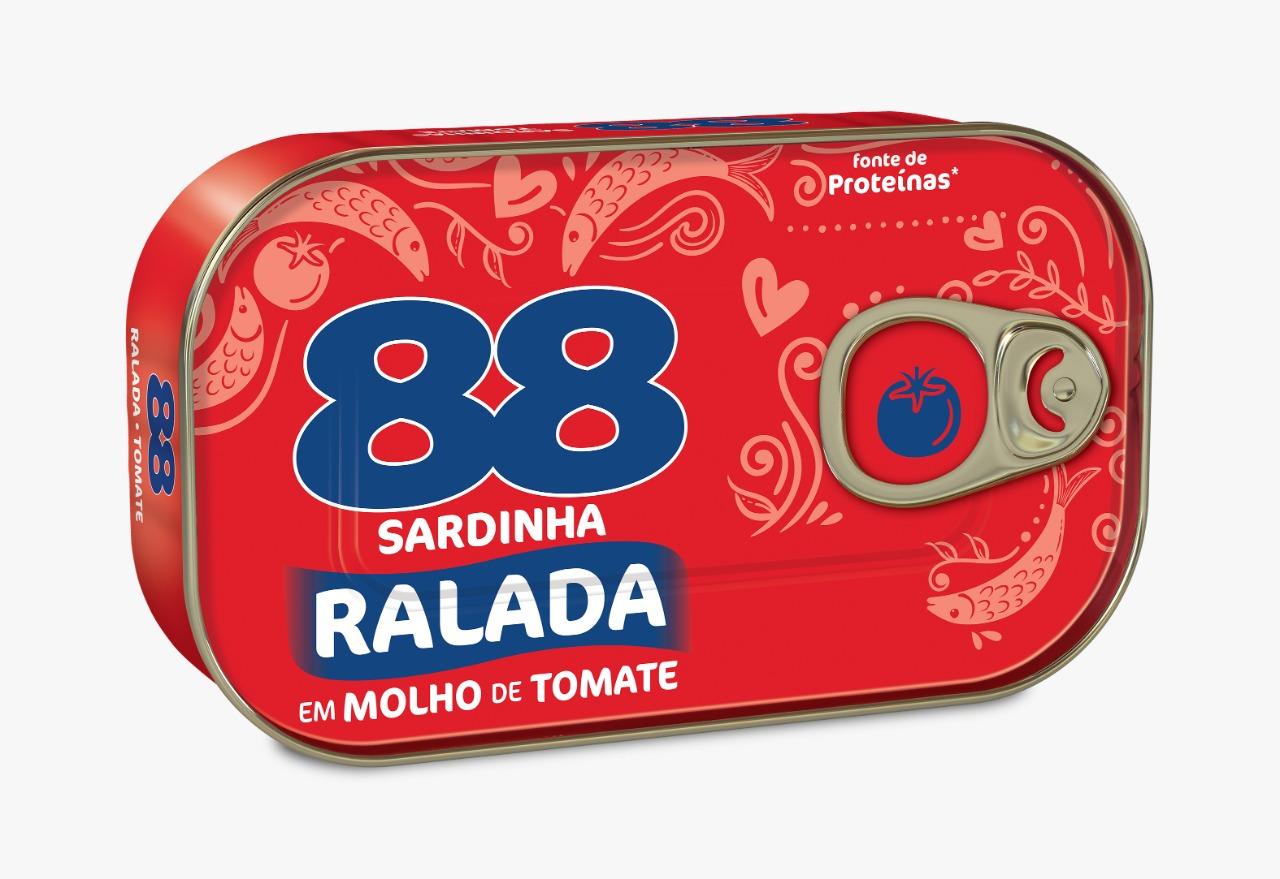 SARDINHAS 88 AO SUCO C MOL D TOMATE 125G