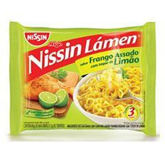 NISSIN LAMEN FRANGO ASSADO COM LIMAO 85G