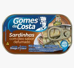 SARDINHAS GDC SUCO OLEO COMES DEFUM 125G