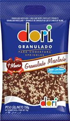 GRANULADO DORI CHOCOLATE MESCLADO 150G