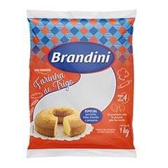 FAR DE TRIGO BRANDINI C FERMENTO 1KG