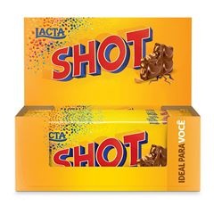 CHOC LACTA SHOT 17X90G